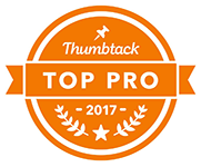 Thumbtack Top Pro Badge for 2017